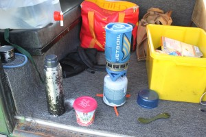 Jetboil, Coffee and porridge