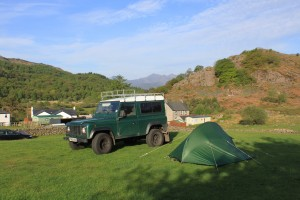 Bryn Tyrch Farm campsite