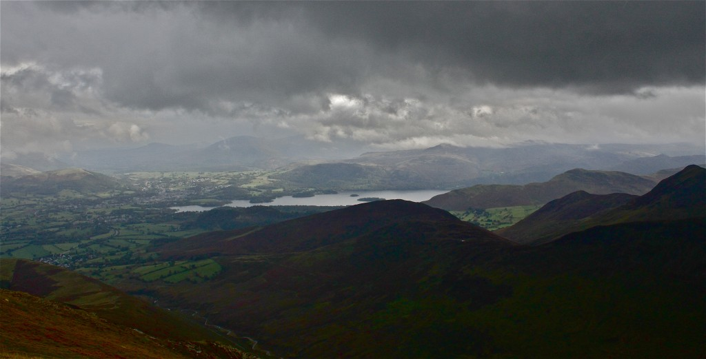 Towards Keswick and Derwent Water